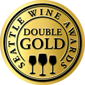Seattle Wine Awards Double Gold Label