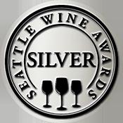 Seattle Wine Awards Silver Label